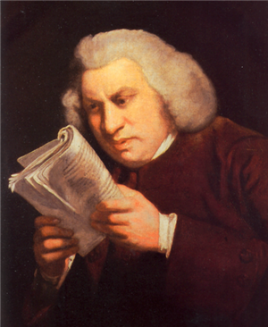Dr Samuel Johnson, LLD