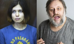 Nadezhda Tolokonnikova of Pussy Riot writing to Slavoj Zizžek