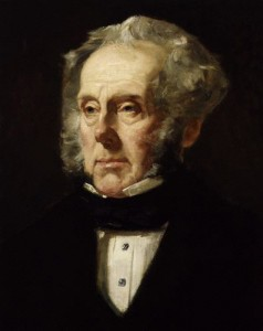 NPG 3953,Henry John Temple, 3rd Viscount Palmerston,by Francis Cruikshank